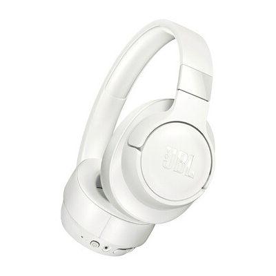 image JBL Tune 700BT – Casque Bluetooth Sans Fil – Appels Stéréo Mains Libres – Léger et Pliable – Autonomie Pendant 27 hrs – Bluetooth, Blanc