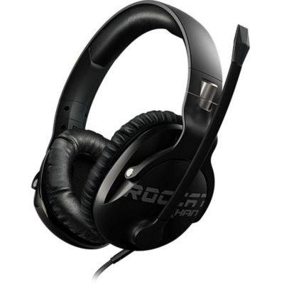 image Roccat Khan Pro – Casque Gaming son Hi-Res, dédié aux compétitions eSport (jack stereo 3,5mm, poids plume 230g, compatible multiplateforme : PC, Mac, PS4, Xbox One, Nintendo Switch, et mobiles)