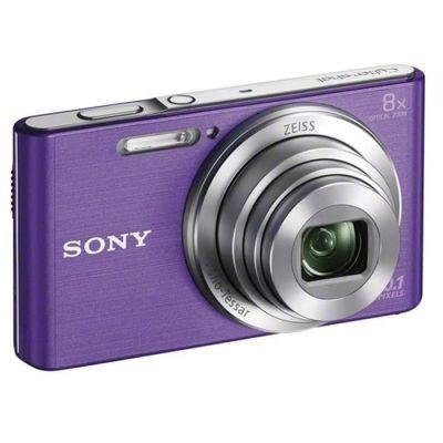 image Sony DSCW830V.CE3 Appareil Photo Numérique Compact, 20.1Mpix, Zoom Optique 8x, Stabilisation Optique - Violet