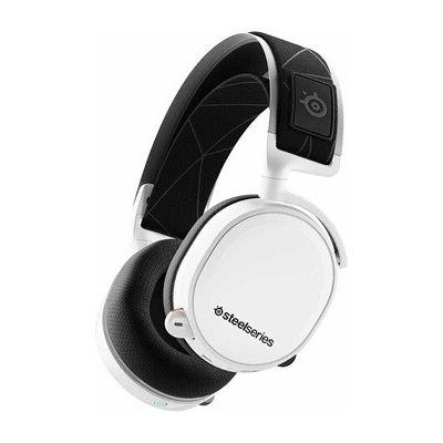 image SteelSeries Arctis 7 - Casque de Jeu sans Fil et sans Perte - Son Surround DTS Headphone:X v2.0 pour PC et PlayStation 4 - Blanc