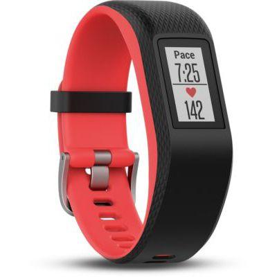 image Garmin Vivosport - Bracelet de Sport avec GPS et Cardio Poignet - Taille S/M - Noir/Fuchsia