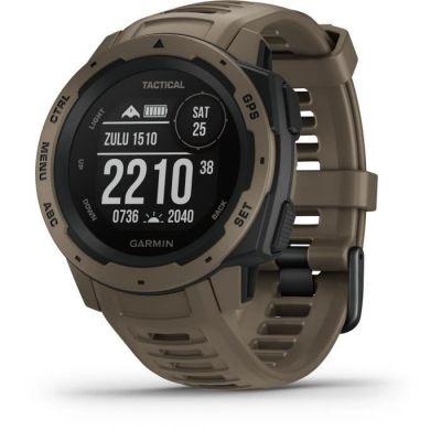 image Garmin  Instinct Edition Tactique - Montre GPS Multi-Fonctions Outdoor - Coyote
