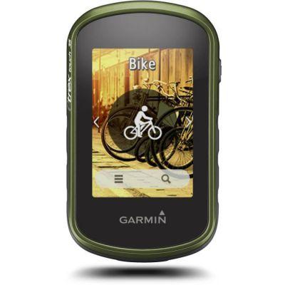 image Garmin - eTrex Touch 35 - GPS de randonnée - Compas électronique 3 Axes et écran Tactile - Cartes TopoActive Europe de l'Ouest Préchargées - Noir + Bumper de Protection - Silicone - Bleu
