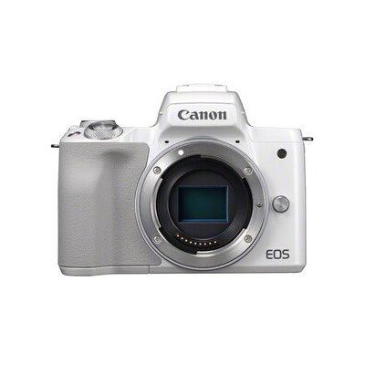 image Canon Eos M50 Appareil Photo Hybride - Boîtier Nu - Blanc