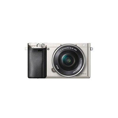 image Sony ILCE-6000LS Appareil Photo Numérique Hybride, Capteur APS-C, 24,3 Mpix, Autofocus Ultra-Rapide, Viseur Intégré - Argent + Objectif 16-50 mm Rétractable