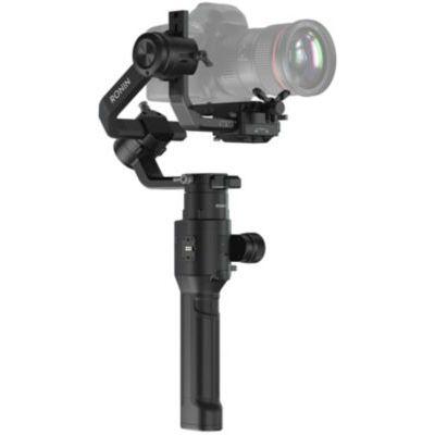 image DJI Ronin-S - Stabilisateur 3 Axes pour Reflex Numérique DSLR, Commande Tout-en-Un, Stabilisateur d'Image et Vidéo, Autonomie 12 Heures, Vitesse de Fonctionnement Maximale 75 km/h