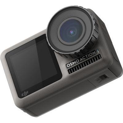 image DJI Osmo Action Cam - Caméra d'Action, SnapShot, Imperméable 11M, Contrôle Vocal, Résitance à la Température, Fonctions Intuitives, Modes Personalisés, Revêtement Protecteur et Anti-Saleté