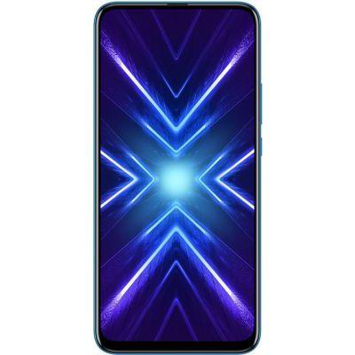 image Honor 9X - Smartphone débloqué 4G (6,59 pouces - 128Go stockage - Double Nano SIM - Android 9.1) Bleu [Version française]