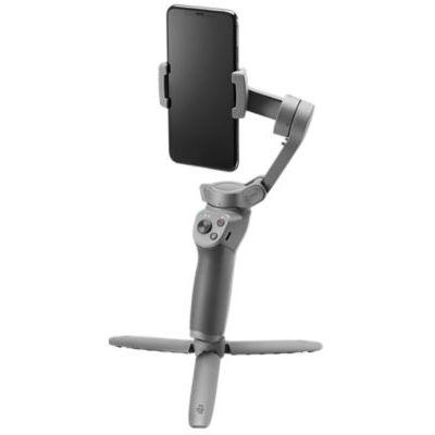 image DJI Osmo Mobile 3 Combo - Stabilisateur de Cardan 3 Axes Compatible avec iPhone et Smartphone Android, Design Léger et Portable, Prise de Vue Stable, Contrôle Intelligent + Trépied