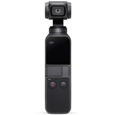 image DJI Osmo Pocket - Stabilisateur de Cardan 3 Axes avec Caméra Intégrée, Utilisation Compatible avec Smartphone, Android, Caméra Intelligente