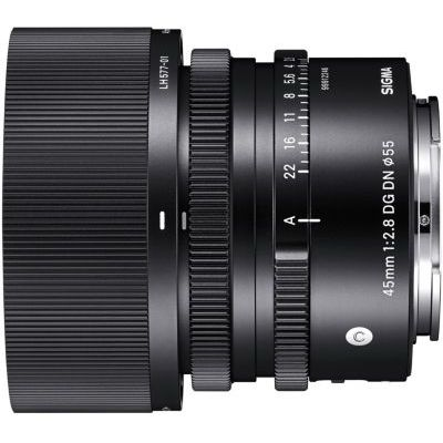 image Objectif pour Hybride Plein Format Sigma 45mm F2.8mm DN OS Contemporary Sony E