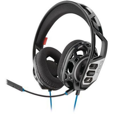 image Plantronics RIG 300 HS Binaural Bandeau Noir - Casques Audio (Console de Jeu/PC/Jeux, Binaural, Bandeau, Noir, avec Fil, 1,3 m)