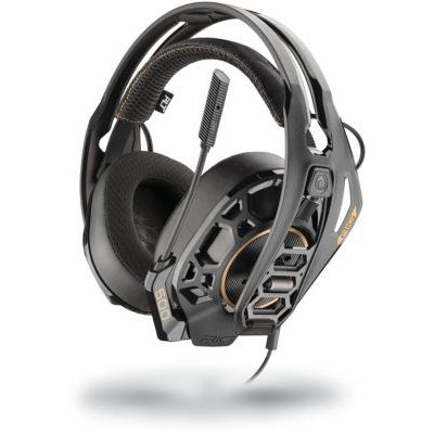 image Plantronics RIG 500 Pro HC - Headphones pour Nintendo Switch/XBOX ONE/PS4, Noir