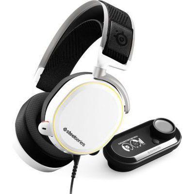 image SteelSeries Arctis Pro GameDAC - Casque Gaming - Audio Haute Résolution Certifié - ESS Sabre DAC - Blanc