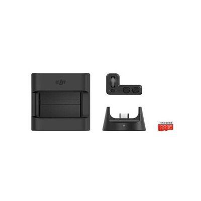 image DJI Osmo Pocket Part 13 Kit Expansion - Kit pour Osmo Pocket, 1 Osmo Pocket Controller Wheel & Osmo Pocket Barre Extension - Rallonge Rétractable pour Osmo Pocket, Perche à Selfies
