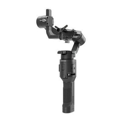 image DJI Ronin-SC Pro Combo Gimbal - Kit avec Ronin-SC et Accessoires, Support de Caméra pour Prises Dynamiques, Fonctions Intelligentes, Focus Motor, Câble RSS Splitter, Volant Focus, Supporte jusqu'à 2kg