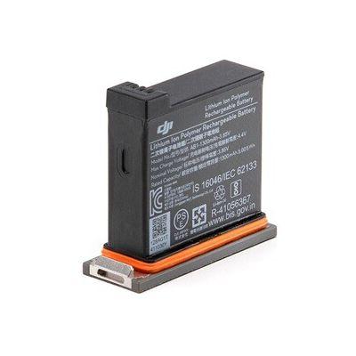 image DJI Osmo Action Part 1 Batterie - Batterie de Rechange pour Osmo Action Cam, Batterie Additionnelle, Boitier de Transport et Protection, Installation Facile - Noir