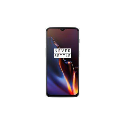 image OnePlus 6T Smartphone débloqué 4G (Ecran : 6,41 pouces 8 Go RAM 128 Go Stockage Double NanoSIM Android) Mirror Black [Version française]