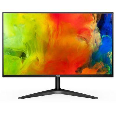 """image AOC 24B1H écran Plat de PC 59,9 cm (23.6"""") Full HD LED Mat Noir - Écrans Plats de PC (59,9 cm (23.6""""), 1920 x 1080 Pixels, Full HD, LED, 5 ms, Noir)"""