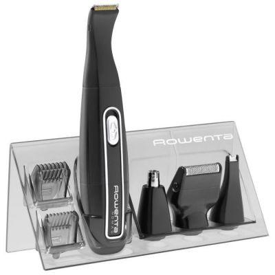 image ROWENTA Tondeuse Barbe Sans Fil Mini Kit Nomad Grooming Étanche Rasoir Précision TN3650F0