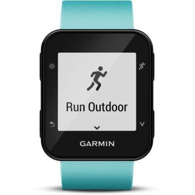 image Garmin Forerunner 35 - Montre GPS de Course à Pied Connectée avec Cardio Poignet - Vert d'Eau