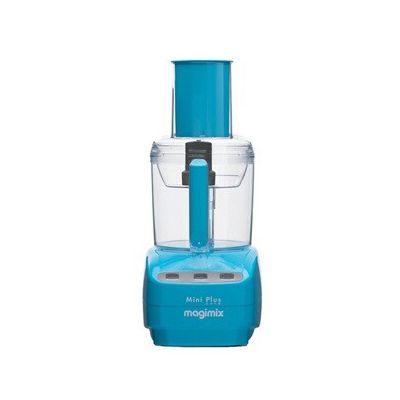 image Magimix - Mini Plus - 400W / 1,7 l - Robot de cuisine bleu(boutons, 1m, France, acier inoxydable)