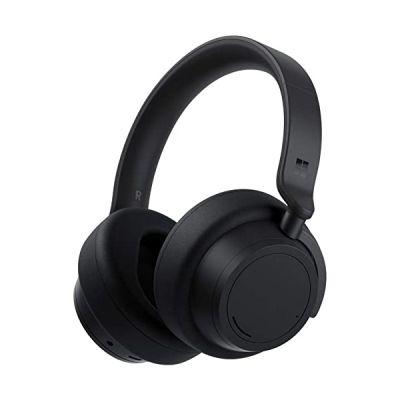 image Microsoft Surface Headphones 2, Casque Bluetooth à Réduction de Bruit, Noir Mat