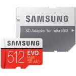 image produit Samsung Evo Plus 512Go carte microSD + Adapteur - livrable en France