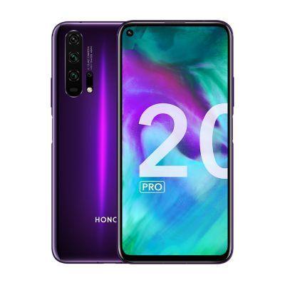 image Honor 20 Pro - Smartphone Débloqué 4G - (Ecran : 6,26 Pouces - 8Go RAM - 256Go ROM - Double Nano SIM - Android P) Phantom Black-Purple [Version Française]