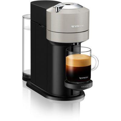 image Nespresso Krups Vertuo Next Gris Clair, Machine Expresso, Machine à Café, 5 Tailles de Tasses, 1,1 L YY4298FD
