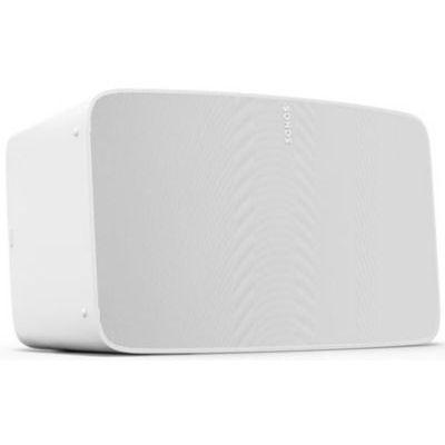 image Sonos Five Enceinte sans Fil - Haut Parleurs HiFi - Son Stéréo - Multiroom - WiFi - Trueplay - Air Play 2 - Interface Tactile - Blanc