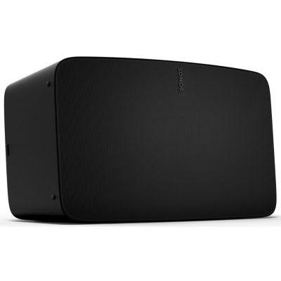 image Sonos Five - Enceinte sans Fil - Haut Parleurs HiFi - Son Stéréo - Multiroom - WiFi - Trueplay™ - Qualité Studio - Son Clair et Puissant - Air Play 2 - Interface Tactile - Noir