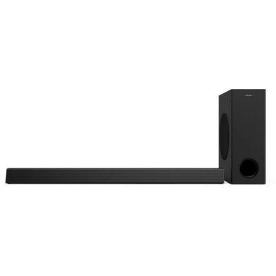 image Barre de son home cinéma Philips HTL3320/10 barre de son TV (Bluetooth, Dolby Audio, 300 watts, subwoofer sans fil, HDMI ARC, USB) noir
