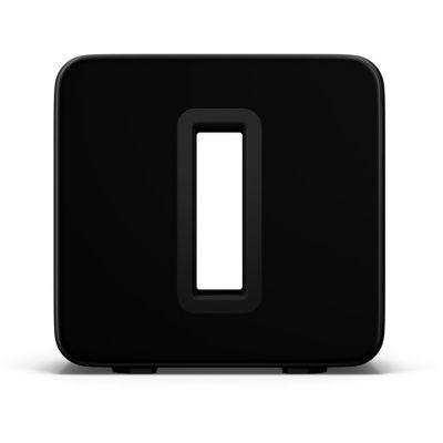 image Sonos Sub (Gen 3) - Caisson de Basse Actif - Amplificateur - Subwoofer - sans Fil - sans Vibration - Home Cinéma - HiFi - Système multiroom - WiFi - Noir