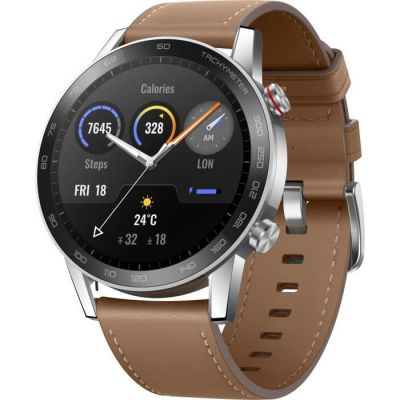 image HONOR MagicWatch 2 silver / brown 46mm