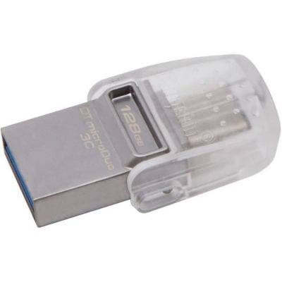 image Kingston 128GB DT microDuo 3C, USB3.0/3.1 + Type-C Flash Drive
