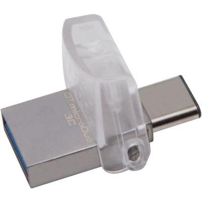 image Kingston DataTraveler MicroDuo 3C DTDUO3C/64GB USB 3.0/3.1 Type-A et Type-C