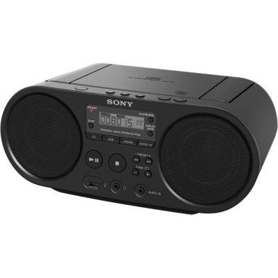 image Sony ZSP-S50B Lecteur CD/MP3, USB, Radio - Noir