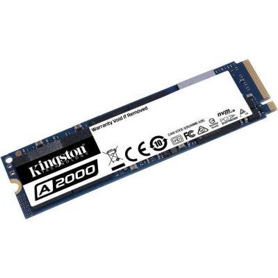 image DD SSD KINGSTON A2000 250Go M.2 2280 PCIe NVMe (SA2000M8/250G) *5528