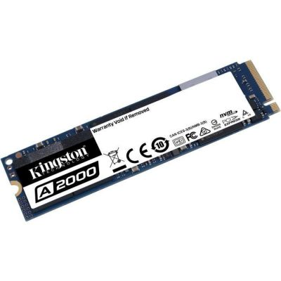 image Kingston Technology Technology (SA2000M8/500G) A2000 SSD NVMe PCIe M.2 2280 500GB