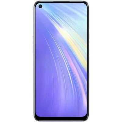 image REALME 6 Blanc Smartphone Débloqué 4G+ - (Ecran : 6,5 Pouces – 4 Go RAM – 128 Go ROM - Double Nano SIM - Android) [Version Française]