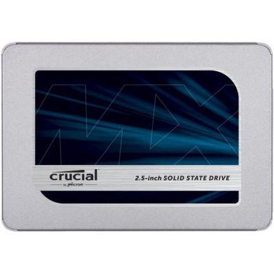 image Crucial 2To CT2000MX500SSD1 SSD interne MX500-jusqu'à 560 Mo/s (3D NAND, SATA, 2,5 pouces)