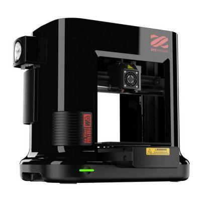 image XYZ Printing 3FM3WXEU01B Imprimante Noire da Vinci 3D Printer avec Filamente