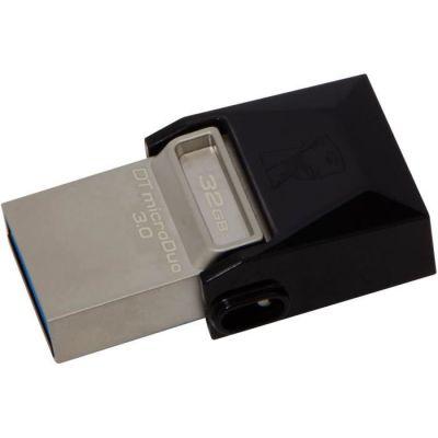 image Kingston - DTDUO3/32GB - DataTraveler - MicroDuo Clé USB - 32 Go - Noir