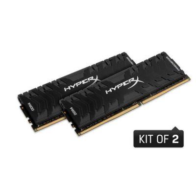 image HyperX Predator HX426C13PB3K2/32 Mémoire RAM 2666MHz DDR4 CL13 DIMM XMP 32GB Kit (2x16GB) Noir