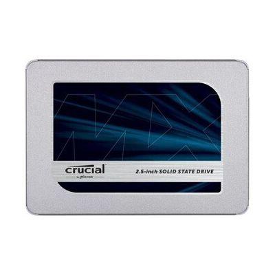image Crucial 500Go CT500MX500SSD1 SSD interne MX500-jusqu'à 560 Mo/s (3D NAND, SATA, 2,5 pouces)