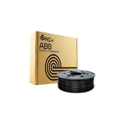 image Bobine recharge de filament ABS, 600g, Noir pour imprimante 3 d DA VINCI 1.0PRO - 1.0A - 1.0AiO - 2.0A - 1.1 PLUS - Super