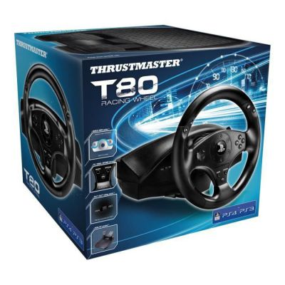 image ThrustMaster T80 RW Official volant Gaming compatible PC / PS4 Noir 4160598 Taille Unique