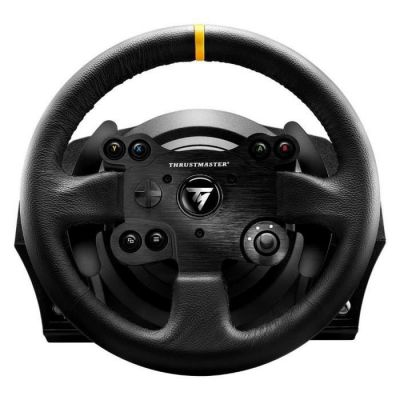 image ThrustMaster TX Racing Wheel LEATHER EDITION compatible PC/Xbox One 4460133 Noir