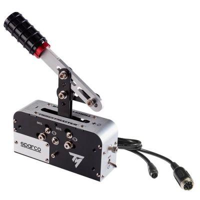 image Thrustmaster TSS HANDBRAKE SPARCO Mod + frein à main progressif et boîte de vitesses séquentielle Sparco compatible PC / PS4 / Xbox One